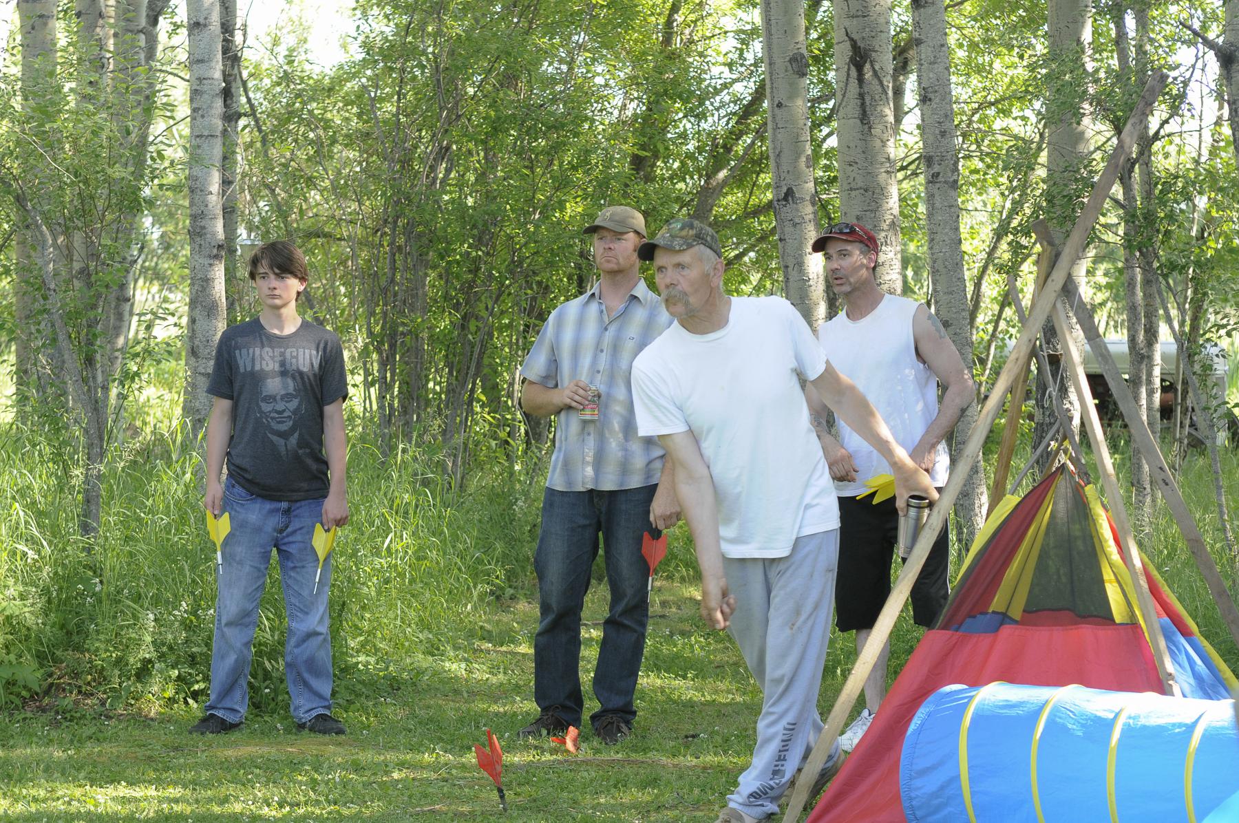 Lawn Darts game