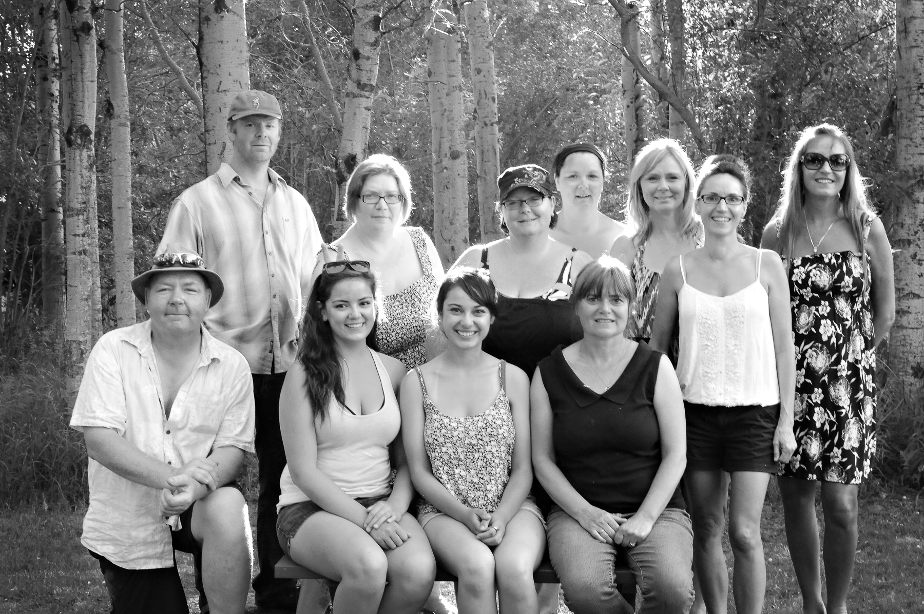 Family Reunion Cousins Portrait