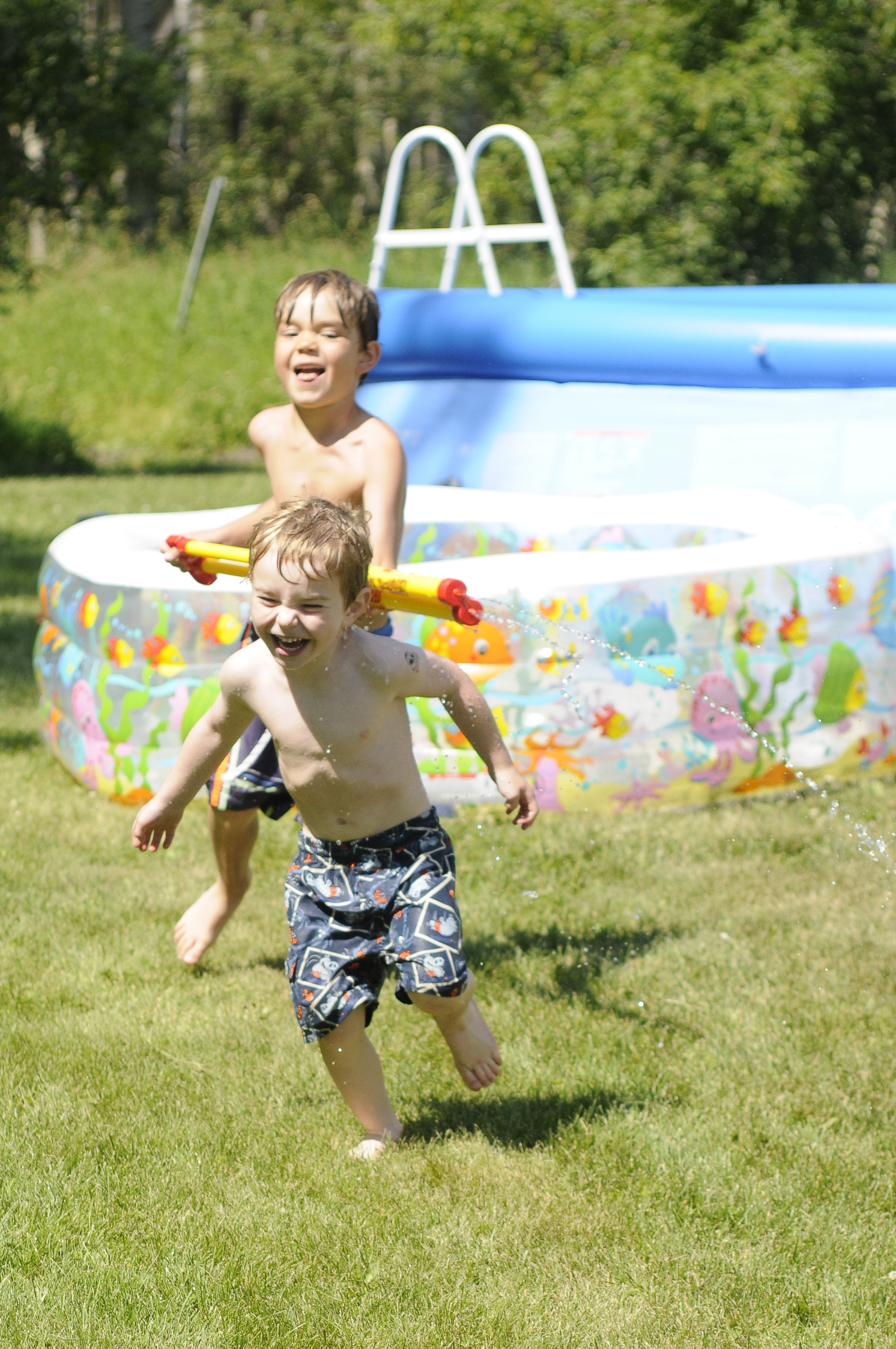 Kids Water fight