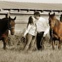 cowboy engagement portraits