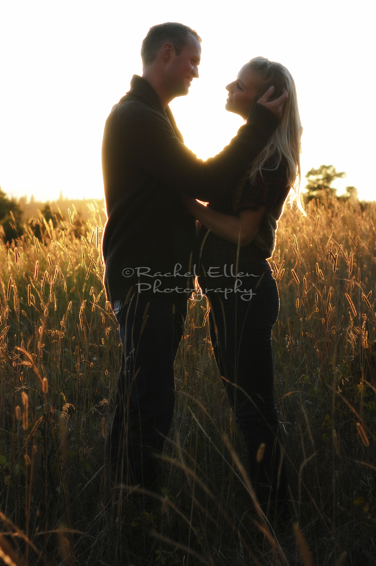 Foothills Engagement Portriats