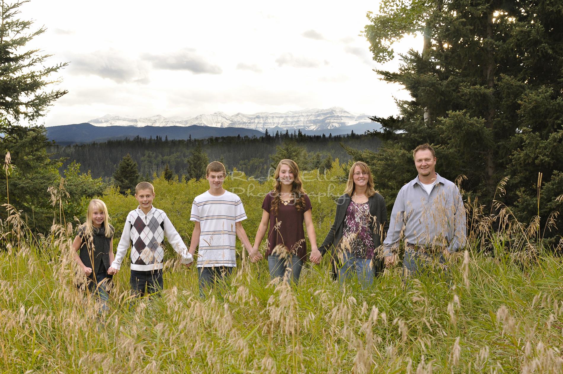 Millarville Family Portrait