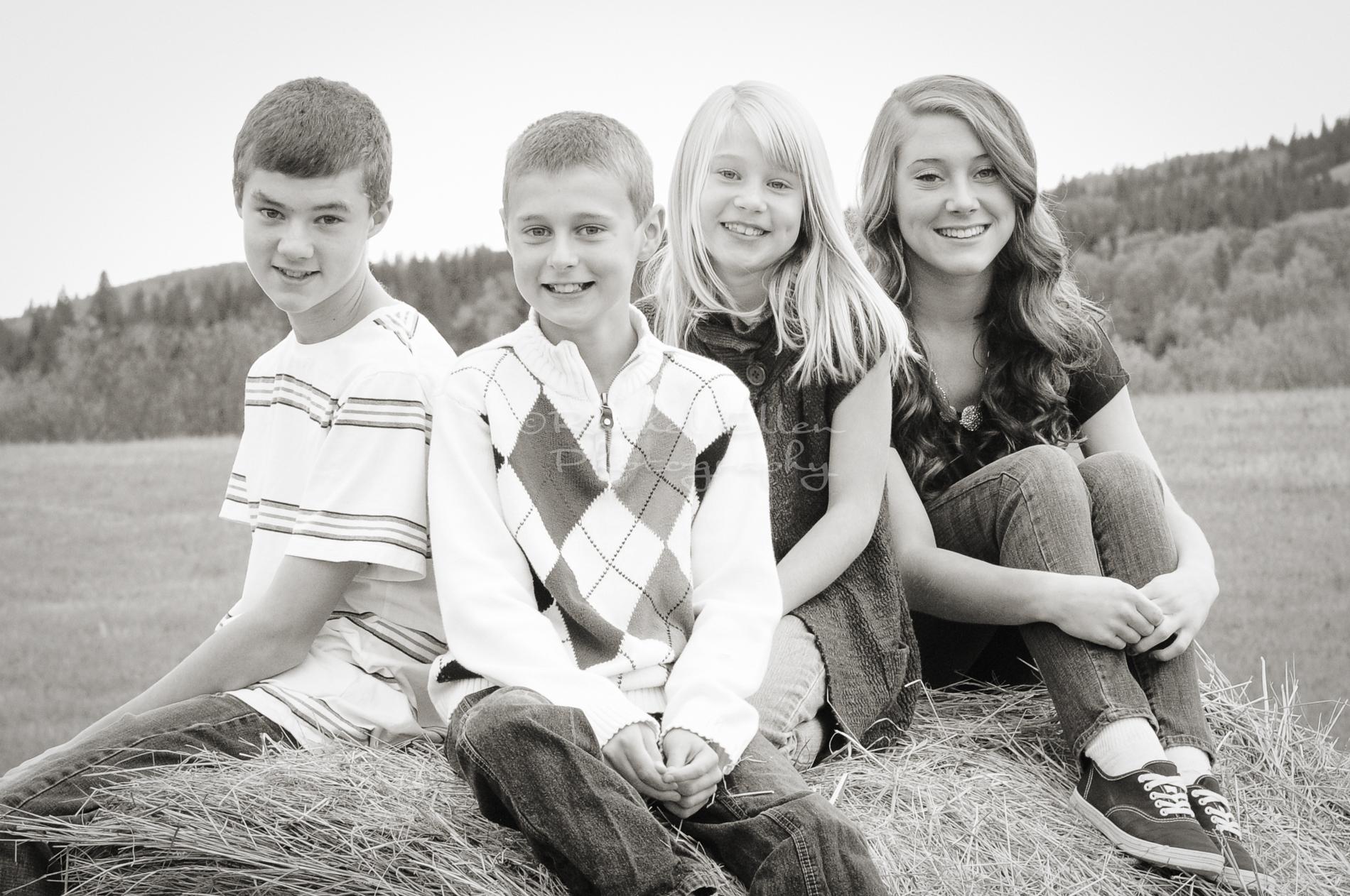 family kids portraits