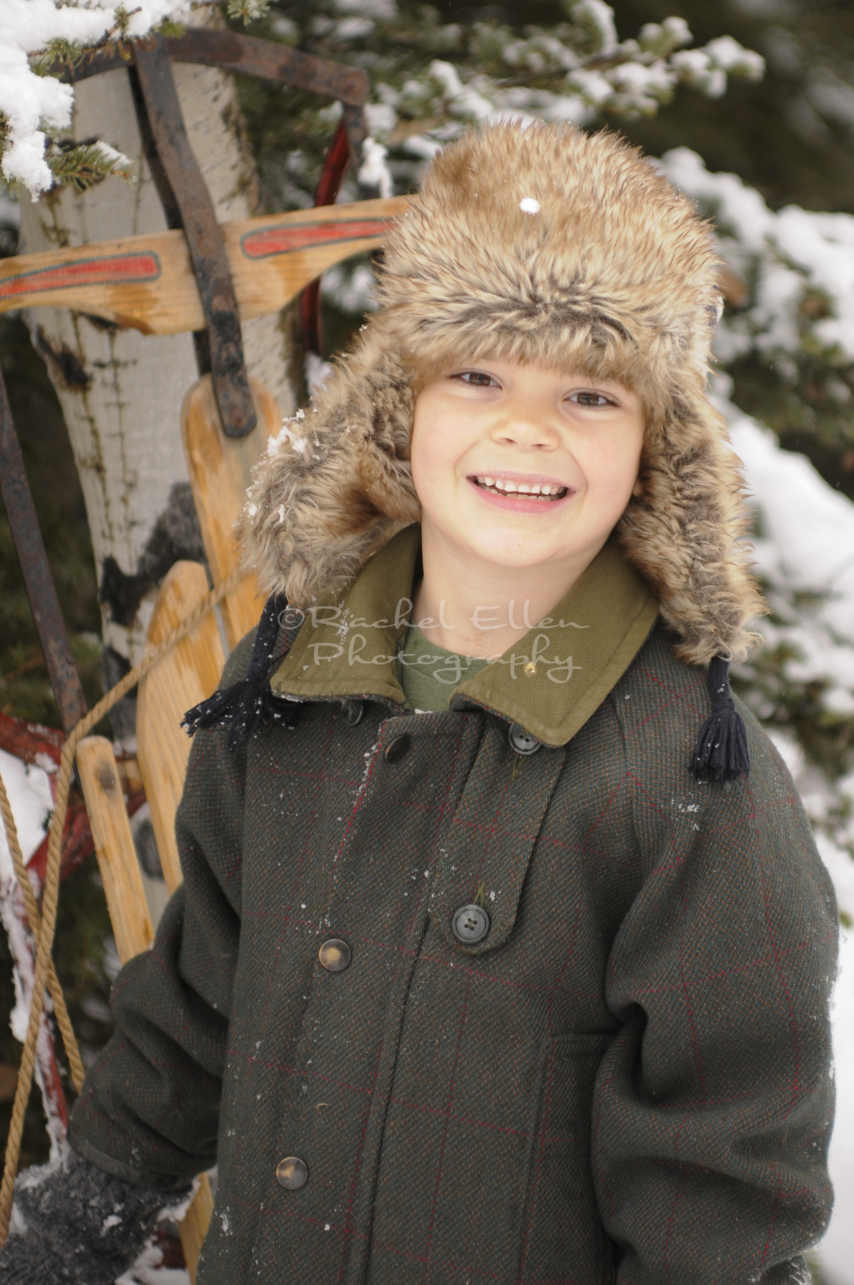 Kids Winter Portraits