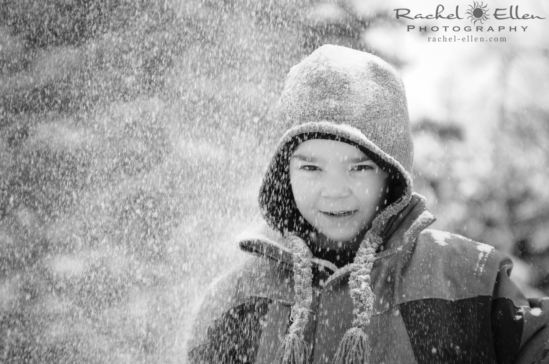 children's winter portraits