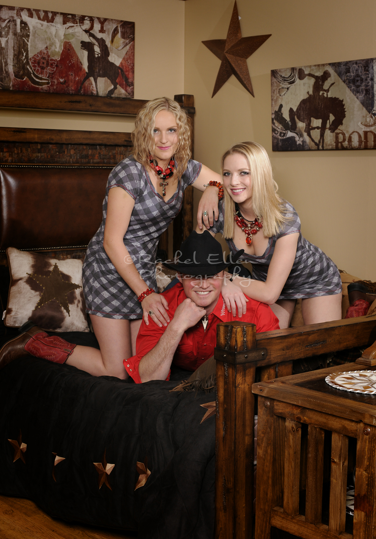 Country and Western Fashion Shoot