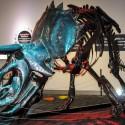 Triceratops Metal dinosaur model