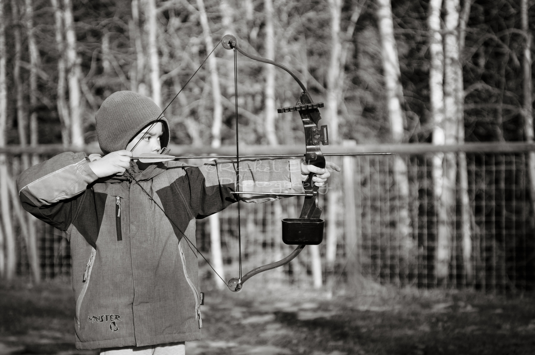archery portrait