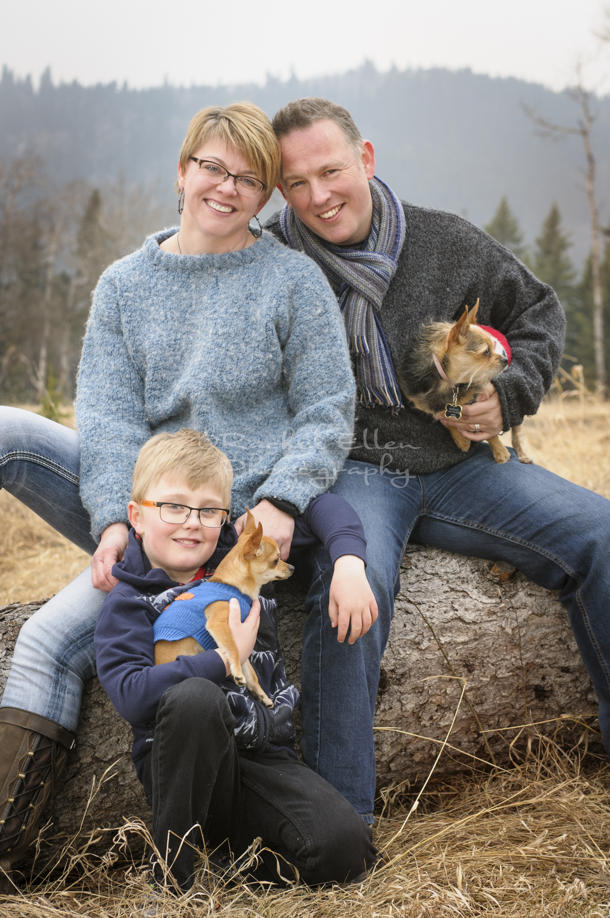 family portraits near Millarville