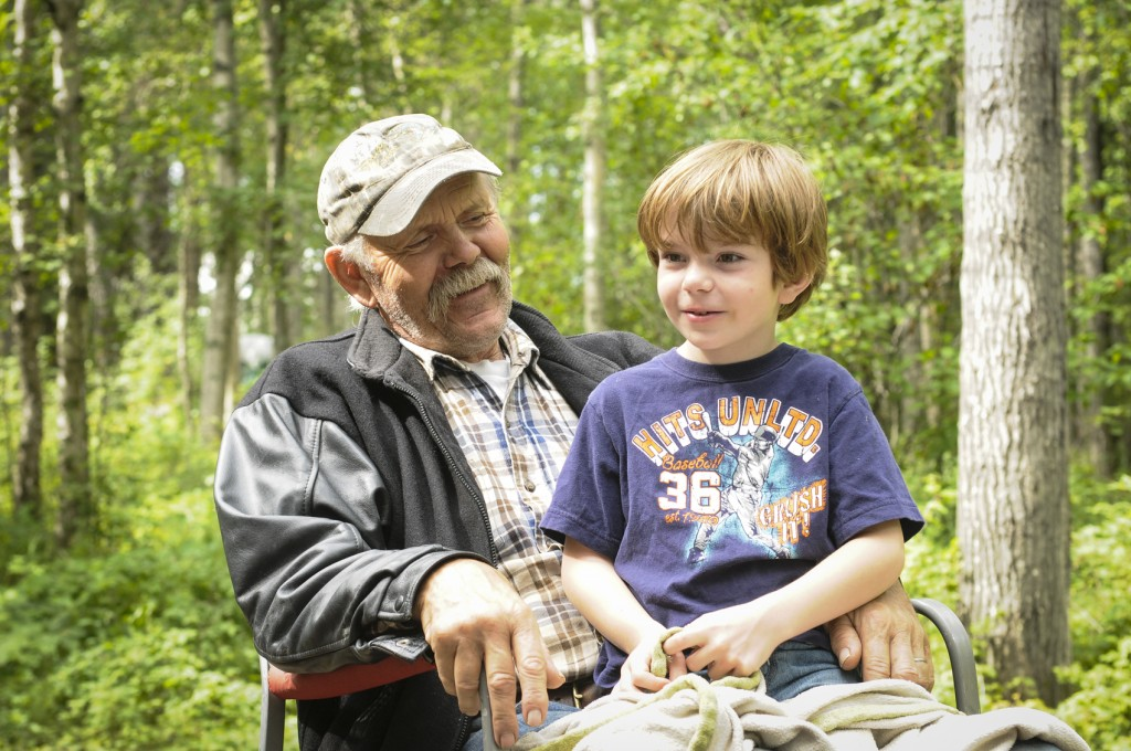 boy with Grandpa