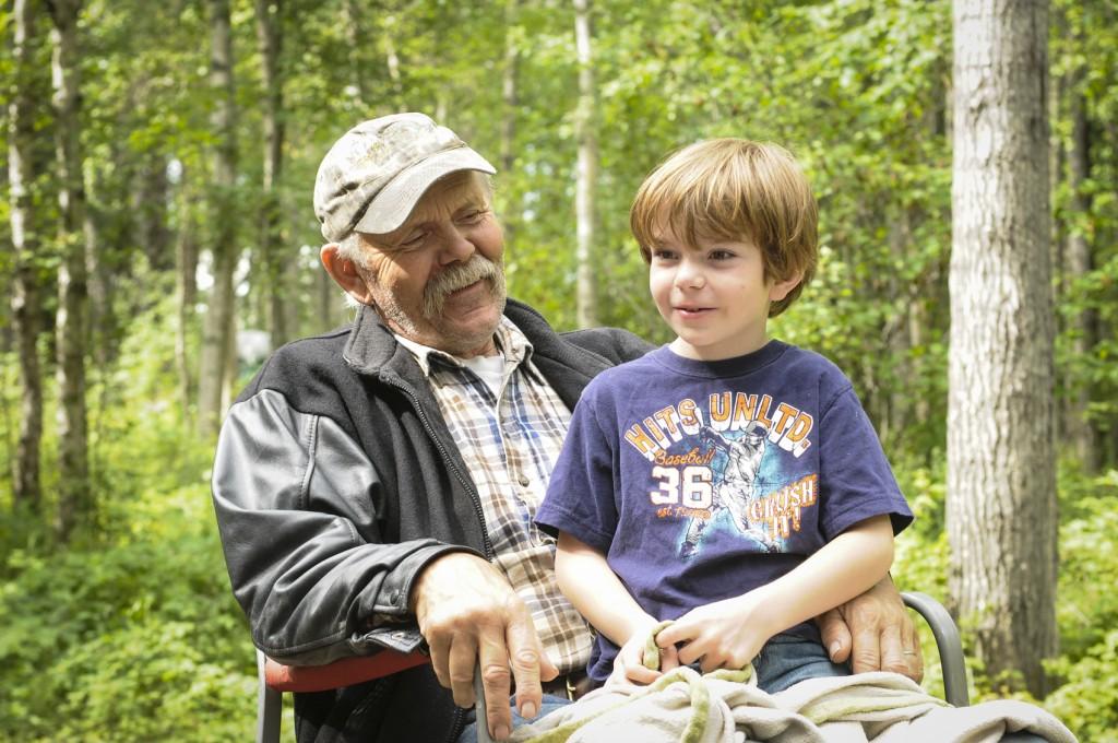 boy with Grandpa