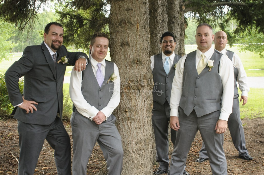 Groomsmen Millarville Wedding