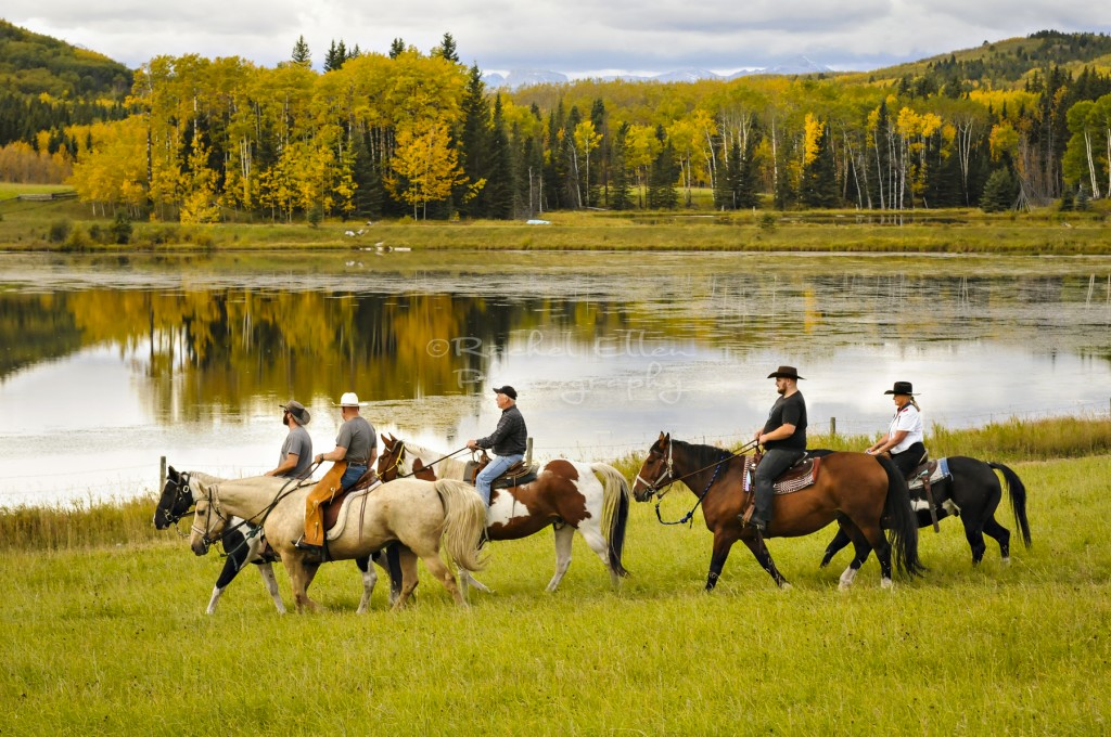 Foothills horseback riding