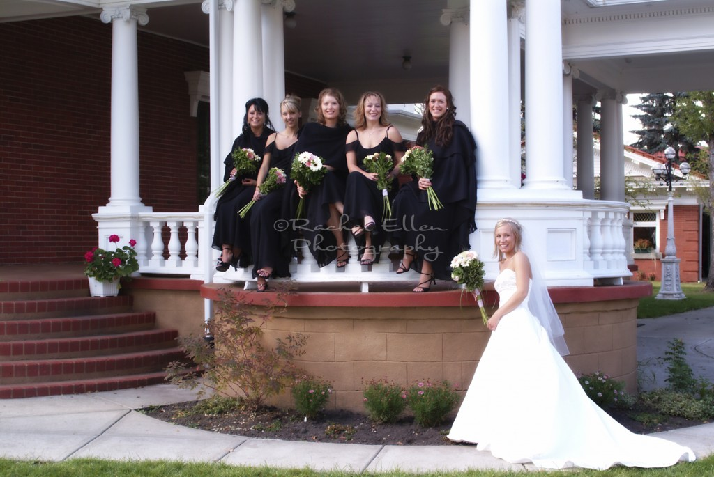 Bridesmaids at McGrath Mansion