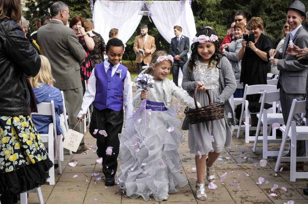 Ring bearer, and Flower Girls