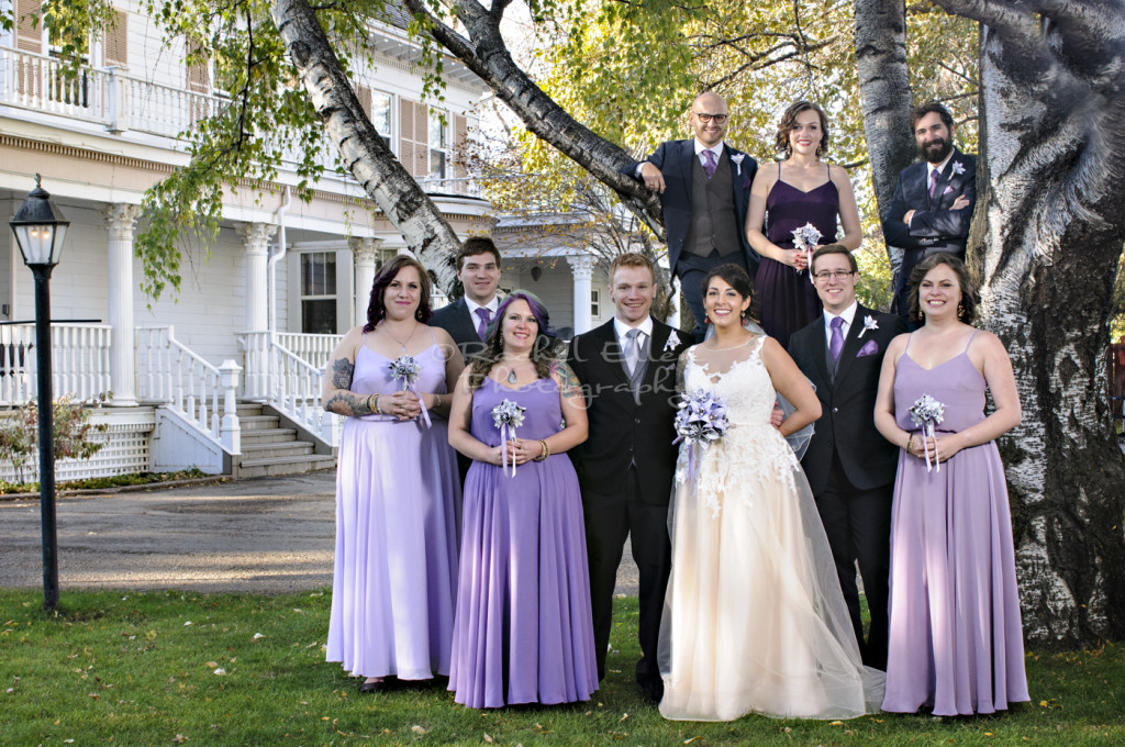 Wedding Party Portrait at The Norland