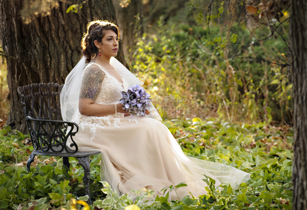 Bridal Portrait at The Norland