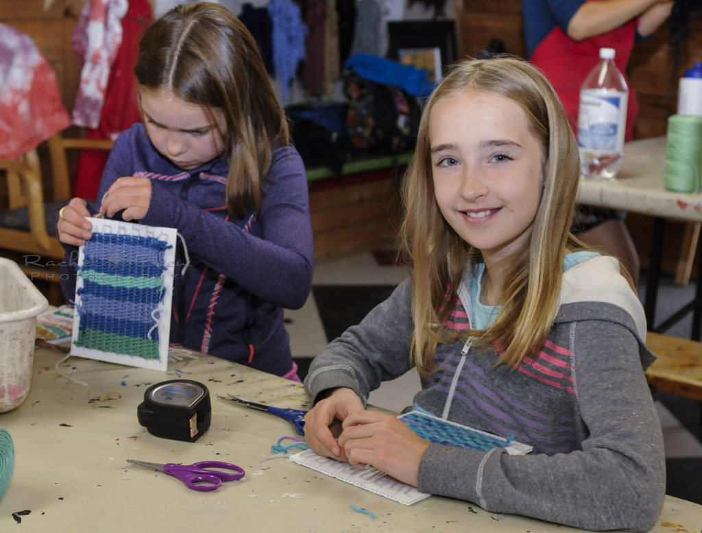 Art Camp at the Leighton Centre